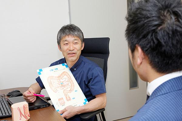 大腸内視鏡検査について