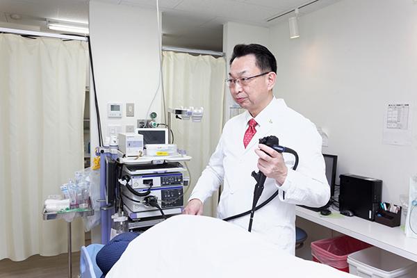 不快感を最大限抑えた大腸内視鏡検査